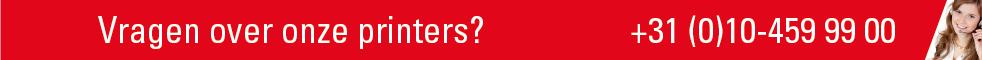 Banner vragen printers