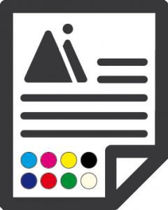 Bedrukt to 8 kleuren