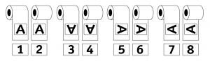 Rolwikkeling schema